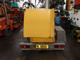 HD single axle galvenised  trailer , for gensets etc , - picture2' - Click to enlarge
