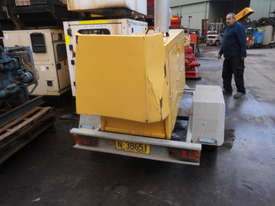 HD single axle galvenised  trailer , for gensets etc , - picture3' - Click to enlarge
