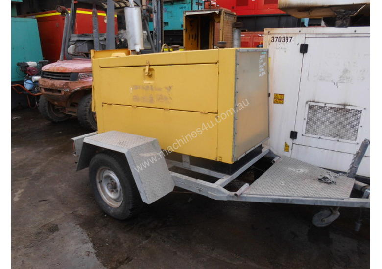HD single axle galvenised  trailer , for gensets etc ,