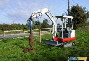 Used Auger Torque Auger Drive - X2500 (S4) Earth Drill to suit 1.7-3.0T Excavator