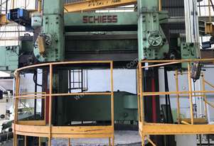 SCHIESS - Double column vertical boring mill, model KZ-200