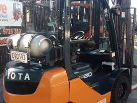 TOYOTA 8FG20 FORKLIFT 2011 MODEL LOW HRS 3.7m Lift - picture1' - Click to enlarge