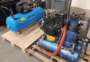 USED PILOT Air Compressors. SAVE $000s from $1,800 Incl PACKAGED SCREW COMPRESSORS. AIR DRYERS/TANKS