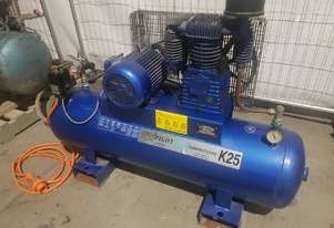 USED AIR COMPRESSORS - PILOT K25/K50/K60 - SALE TO 26/6. PACKAGED COMPRESSORS. AIR DRYERS/TANKS etc