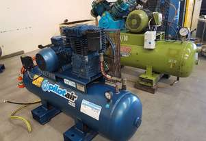 USED AIR COMPRESSORS - PULFORD/PILOT K25/K50/K60 - SALE TO 22/7. PACKAGED 3-IN-1/AIR DRYERS/TANKS