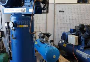 USED COMPRESSORS - PILOTAIR K25/K30V/K50/K60 - SALE TO 29/11. PACKAGED 3-IN-1 Incl AIR DRYERS/TANKS