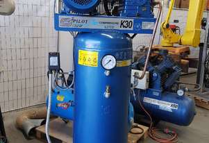 USED COMPRESSORS - PILOTAIR K25/K30V/K50/K60 - SALE TO 15/11. PACKAGED 3-IN-1 Incl AIR DRYERS/TANKS