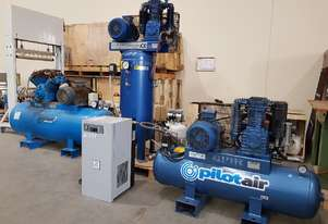USED PILOTAIR K30 $2,500 / K60 $4,500 - SALE TO 25/12. SCREW COMPRESSORS 3-IN-1 incl DRYER/TANK