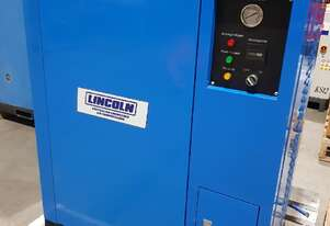 2018 7.5 Kw SILENT COMPRESSOR 867 Hours Incl VERTICAL TANK + SCREW COMPRESSORS