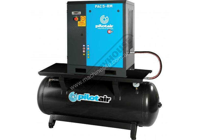 PAC5-RM Rotary Screw Air Compressor 648L/Min. 22.9CFM  10 Bar