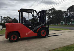 5 Ton Dual Fuel Forklift For Sale