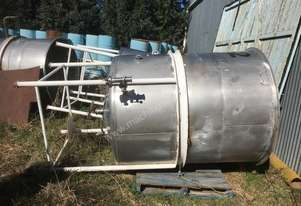 Stainless Tank 3000L Stainless Steel Tanks