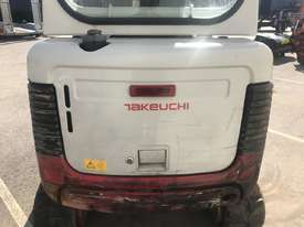 TAKEUCHI TB016 1.6T HOURS MINI EXCAVATOR - 807 - picture5' - Click to enlarge
