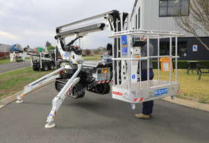 PB1380 - 13m Crawler Mounted Stick Boom Spider Lift