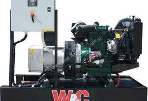 7.6kVA, Three Phase, Lister Petter Open Standby Generator