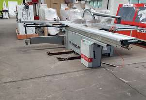 USED 3.2MT SLIDING TABLE MANUAL SET FENCE PANEL SAW