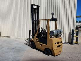 Toyota 2.5 tonne Forklift LPG 5m lift height Orange Location  - picture1' - Click to enlarge