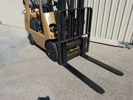 Toyota 2.5 tonne Forklift LPG 5m lift height Orange Location  - picture4' - Click to enlarge