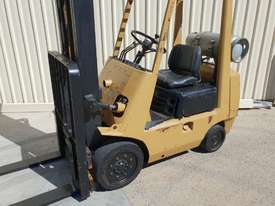 Toyota 2.5 tonne Forklift LPG 5m lift height Orange Location  - picture7' - Click to enlarge