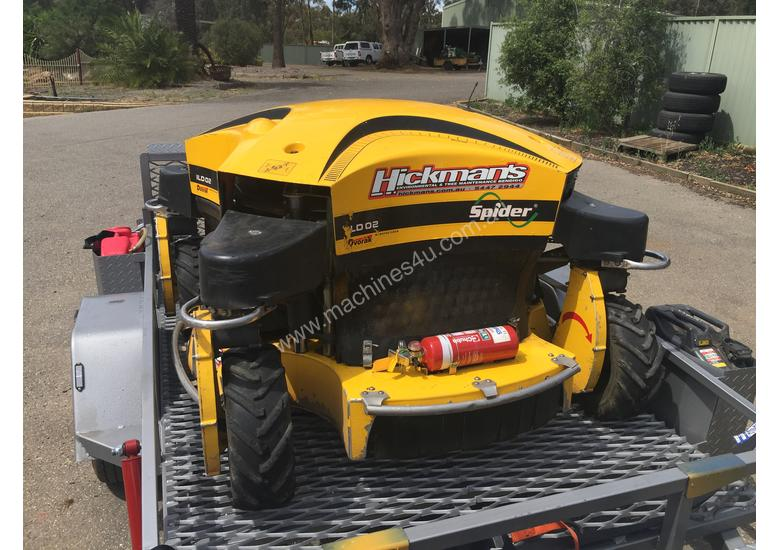 Remote Control Slope Mower