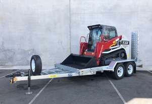 TL6R TRACK LOADER AND PT45 TRAILER PACKAGE