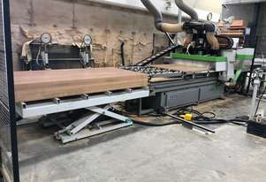 BIESSE SKILL 1224 CNC WITH ONLOAD & OFF LOAD