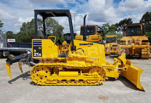 Komatsu D21A-7E with Rippers fitted DOZETC