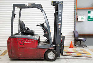 1.55T Battery Electric 3 Wheel Battery Electric Forklift