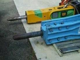Hydraulic Hammer Breaker Rammer  - picture2' - Click to enlarge
