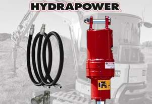 Hydrapower BU2 Auger Drive / Earth Drill suits Excavators to 5 Tonnes
