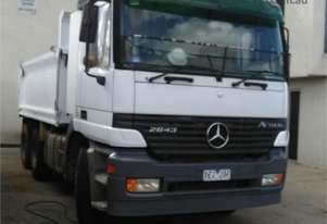 2001 Mercedes Benz Actros 2643 Tipper
