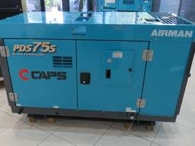 AIRMAN PDS75S-5C1 75cfm Portable Diesel Air Compressor - picture2' - Click to enlarge
