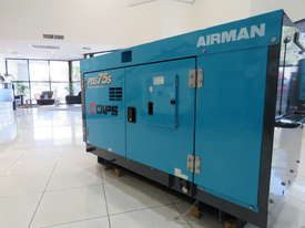 AIRMAN PDS75S-5C1 75cfm Portable Diesel Air Compressor - picture4' - Click to enlarge