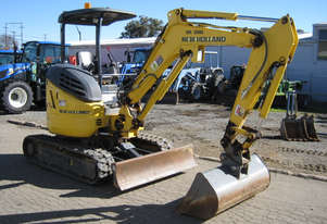 New Holland E27B Tracked-Excav Excavator