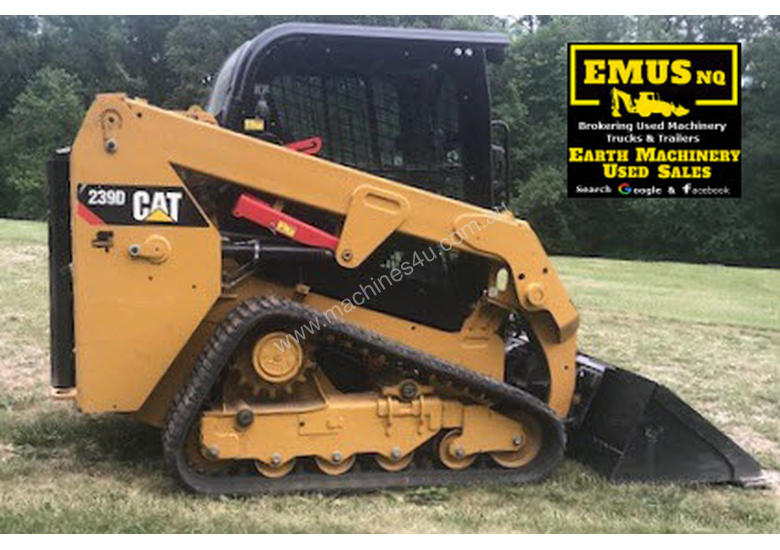 2016 CAT 239D Tracked Skid Steer, only 300hrs.  MS520