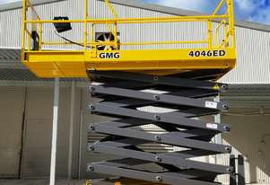 GMG 4046ED Electric Drive Scissor Lift with Industry First 10 x 5 Warranty