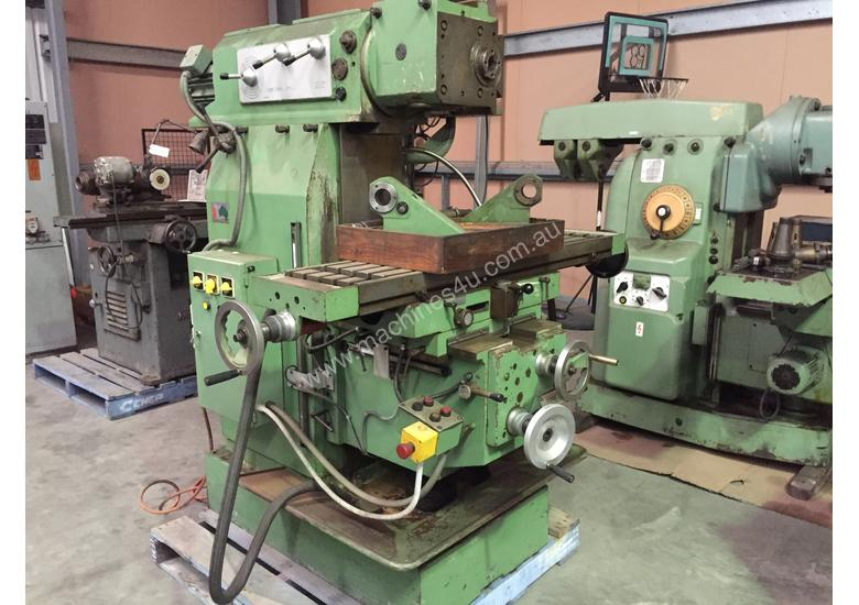 Used Fexac Model UMS Universal Milling Machine