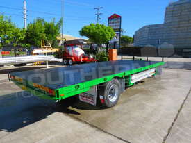 9 Ton Single Axle Flatbed Trailer ATTTAG - picture1' - Click to enlarge