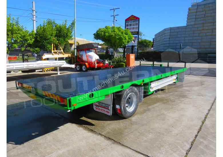 9 Ton Single Axle Flatbed Trailer ATTTAG
