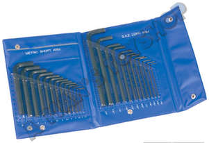 ALLEN KEY  SET IN WALLET 25 PIECE AF MET