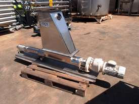 Open Throat Helical Rotor Pump, IN: 550mm L x 230mm W, OUT: 75mm Dia - picture0' - Click to enlarge