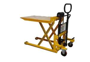 1T Skid Lifter / Pallet Jack with Platform Max Lift Height 833mm