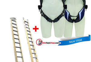 Oldfields Extension Ladder 8.8 Meter with Exofit Safety Harness