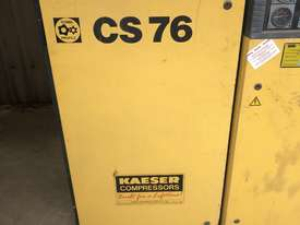 Kaeser CS76 3 phase industrial compressor  - picture0' - Click to enlarge