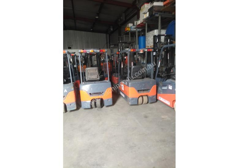 Toyota electric forklift 7FBE18 7FBE20