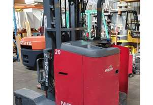 Nichiyu FBROW20, 2.0Ton (5m LIFT) All-Directional Electric Forklift