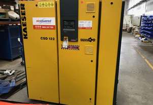 2009 Kaeser CSD122 - 75kw - 427cfm Electric Air Compressor