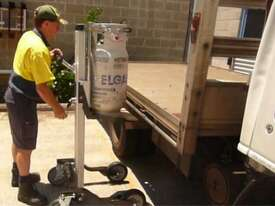 Lift Trolley-100/125kg-1200mm Lift-Gas Bottle Attach-2x220 & 200 Brake - picture2' - Click to enlarge