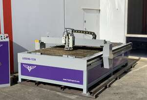 As New CNC Plasma With Etching Engraving Head 1500mm x 3000mm THC