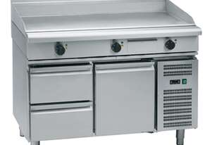Waldorf 800 Series GP8120E-RB - 120mm Electric Griddle - Refrigerated Base